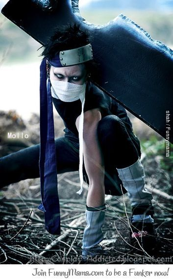 Zabuza Epic Cosplay !  This is actually my next project.  I hope it's half as good as this guy.