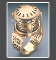 Golden Carosel Ring