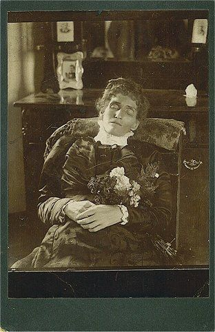 Postmortem photography or memento mori, the photographing of a deceased person, was a common practice in the 19th and early 20th centuries. ...