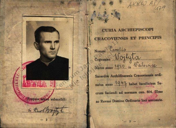 Young Pope John Paul II