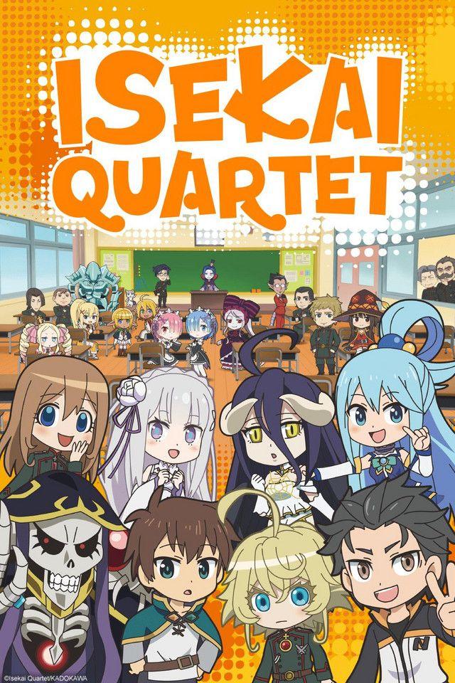 ISEKAI QUARTET Watch on Crunchyroll in 2020 Anime, Anime