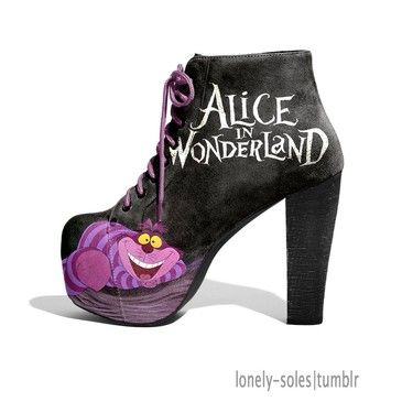 Alice in wonderland #shoes