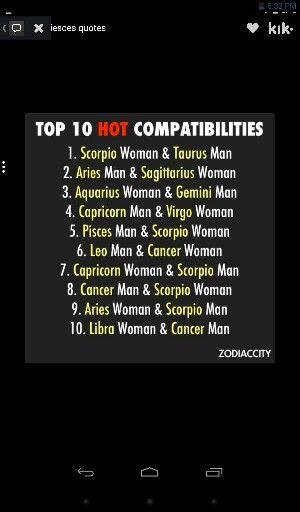 Yes 1000% accurate..... Aries woman♈ & Scorpio man♏ ❤❤❤
