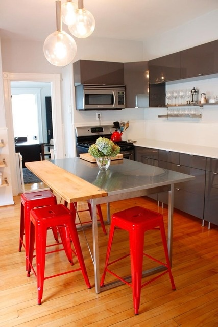 Best 21 Best Gray And White Kitchen With Red Accents Images On 400 x 300