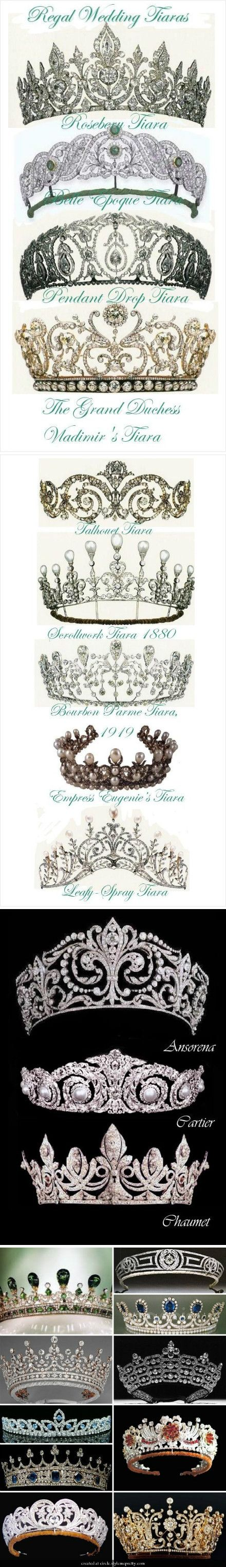 I was never the girly-like or princess-like, but i love the antique look on this tiaras.
