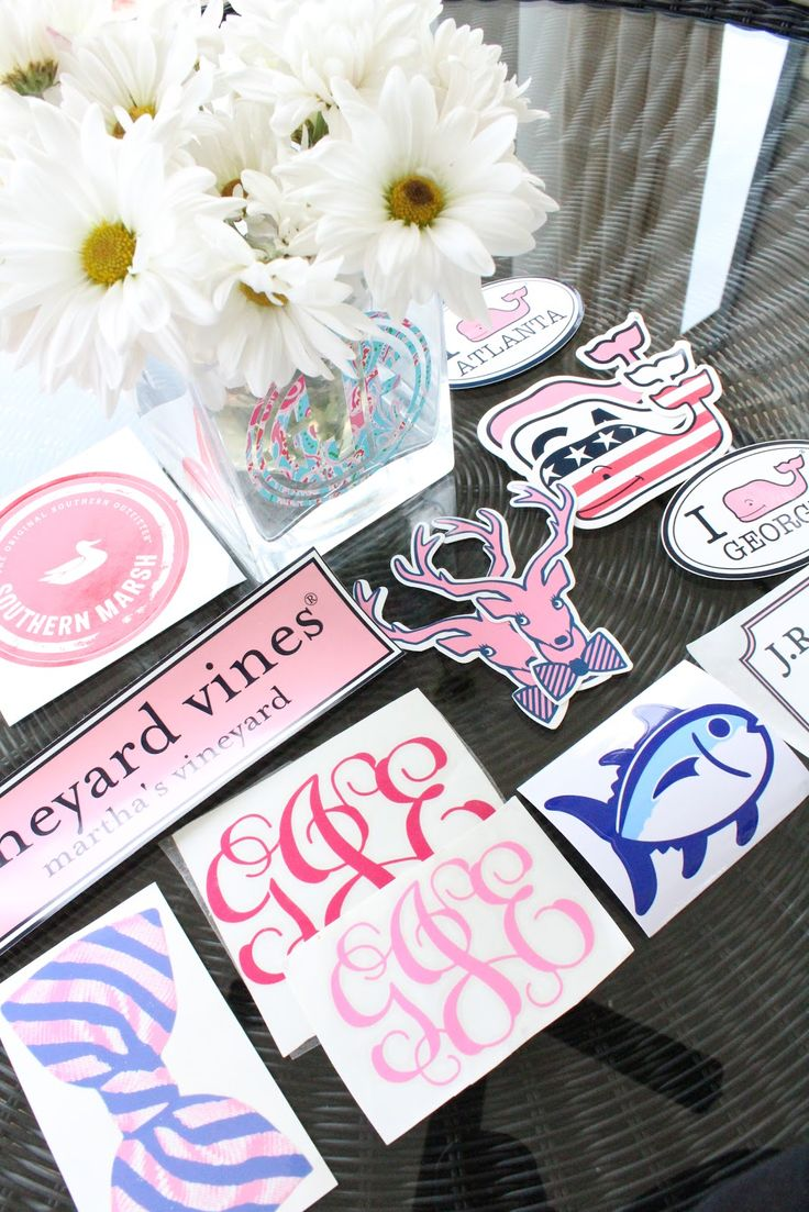 This is a page on a blog on how to get free preppy stickers!! I used this link to email many places, and got a bunch of stickers by mail! Enjoy!!! xoxo, Megan