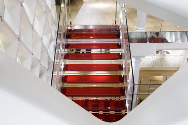 Modern Stairs   Steel and glass   Scavolini SoHo Gallery    Interiors