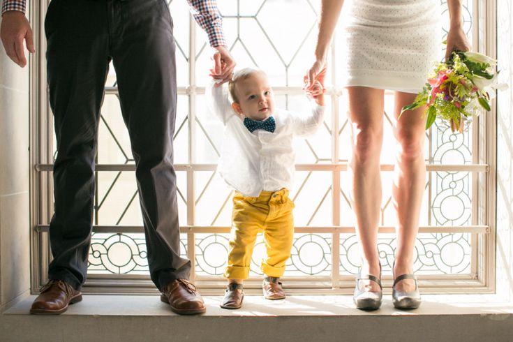 San Francisco City Hall Wedding With A Kid/ Baby