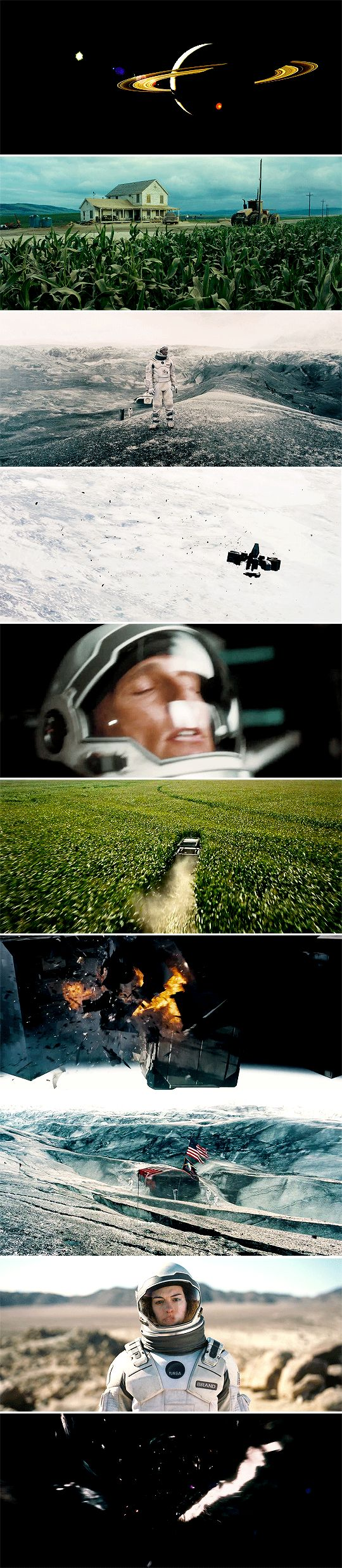 Interstellar (2014) - Cinematography by Hoyte van Hoytema | Directed by Christopher Nolan