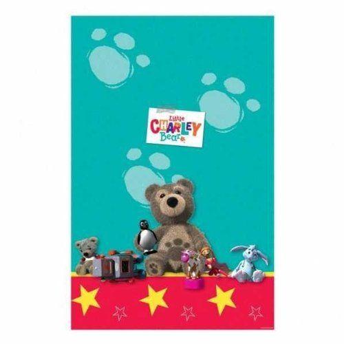 """Amscan International Little Charlie Bear Tablecover by Amscan International. $7.98. Little Charley Bear Plastic Table Cover 54"""" X 102"""". Little Charley Bear Plastic Table Cover"""