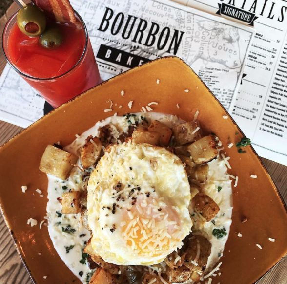 At Fort Riley and craving something delicious? Everything on Bourbon and Baker's menu is amazing, and it's one of our favorite date night spots in Manhattan, Kansas.