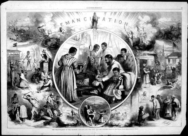 003 Thomas Nast, Harpers Weekly, 1863 Us history