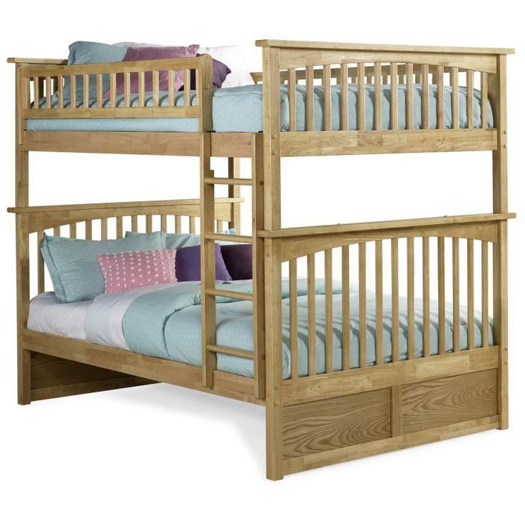 Atlantic Furniture Columbia Full over Full Bunk Bed - AB555