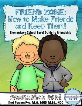 This product contains activities for teaching elementary-aged students what a friend is, how to make a friend, and how to keep a friend! The activities are perfect for individual student counseling or small groups.  In this pack you'll get:Section 1:-Hypothesize: What is a friend like?