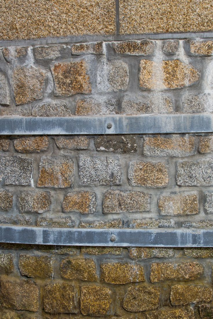 Cropped Granite Walling Stone Used For Harbour Wall At