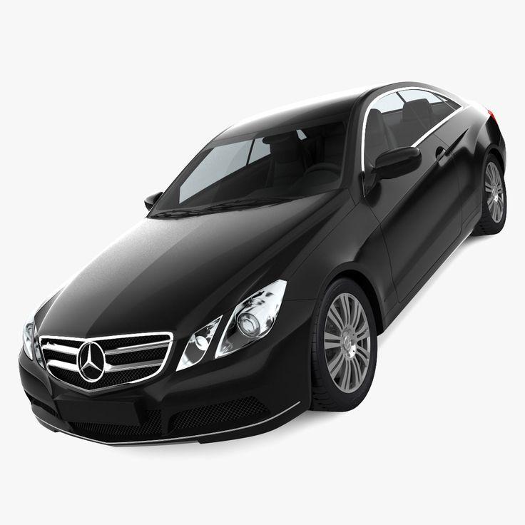 3D Mercedes E Class 2010 - 3D Model