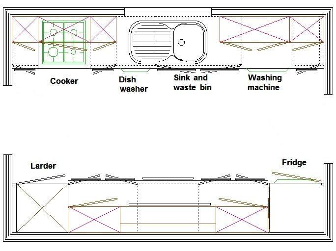 Best 25+ Galley kitchen layouts ideas on Pinterest Galley - kitchen cabinet layout designer