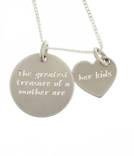 The greatest treasure of a mother are her kids!