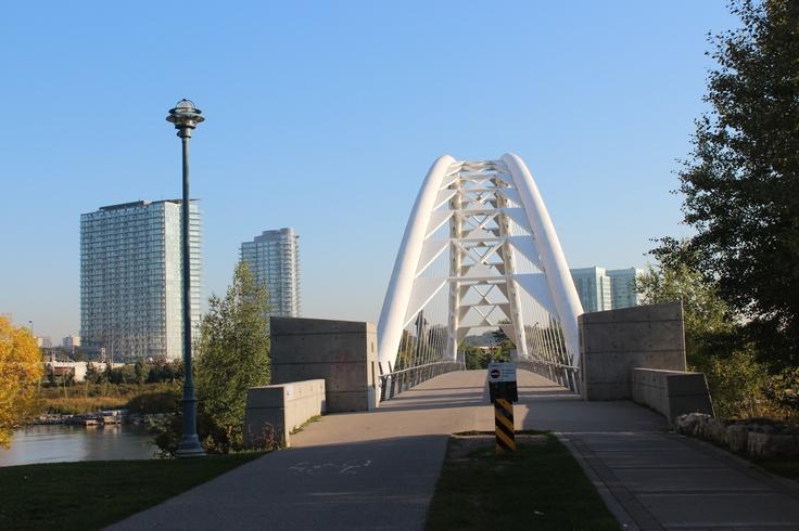 Landmark Humber Bay Bridge
