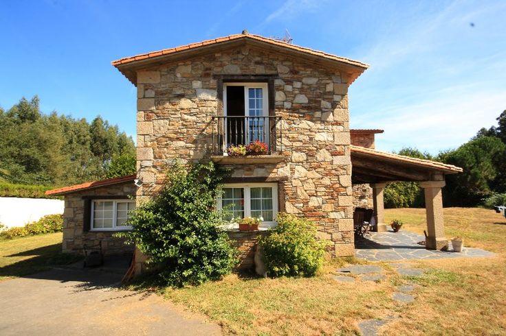 Construcciones r sticas gallegas casas r sticas de - Casas con porche ...