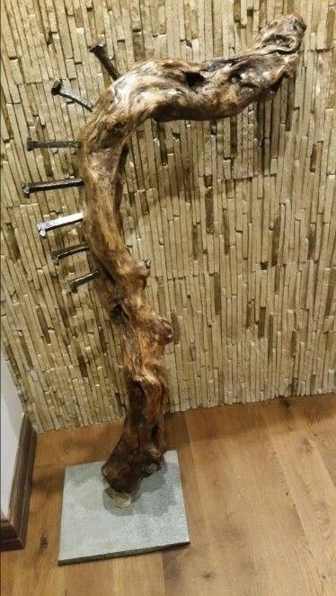 Wood sculpure