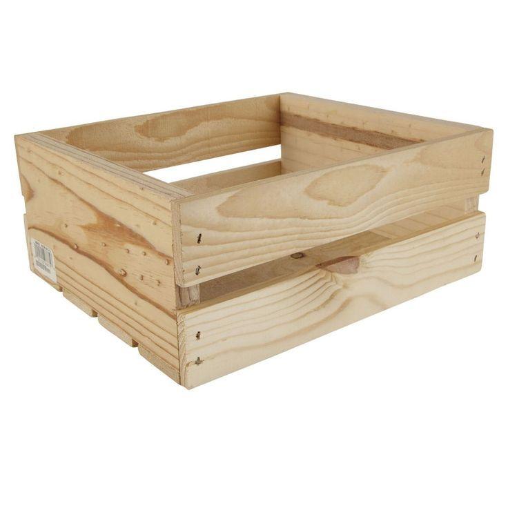 Half Crate By Artminds Michaels Artminds Crate Michaels Woodencratesbookshelfnurser Kiste Bucherregal Kisten Into The Woods