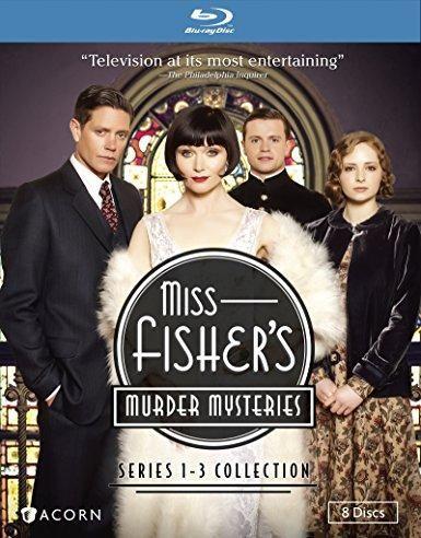 Essie Davis & Ashleigh Cummings & Daina Reid & David Caesar-Miss Fisher's Murder Mysteries Series 1-3 Collection