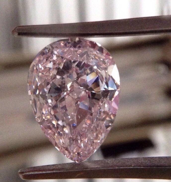 5 carat Fancy Colortype A Purple-Pink Diamond
