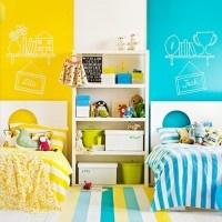 Ιδέες για διακόσμηση κοινού παιδικού δωματίου για αγόρι & κορίτσι