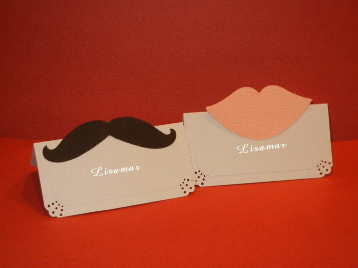 Lips and  Mustaches Tent Place Card, Food Labels, Lips and Mustaches Theme, Buffet Food Label. $12.00, via Etsy.