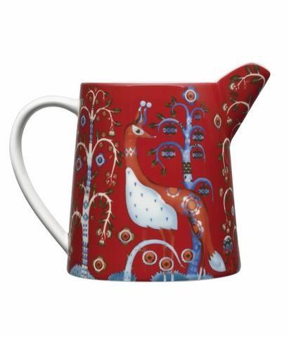 Džbánek na mléko z limitované vánoční kolekce Taika. Pohádkový vzor dle návrhu finského designéra Klause Haapaniemiho. #design #crockery #style #interior #design #christmas #Iittala #stylish #home #decoration