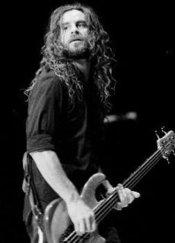 """Justin Chancellor (born November 19, 1971) is an English-born musician; currently the bass player for Tool and formerly of the band Peach (GB). After settling in the US - besides his engagement in his musical projects - he and his wife Shelee run a store called Lobal Orning in Topanga, California, dedicated to music, literature and film """"that shaped and changed"""" both of them."""