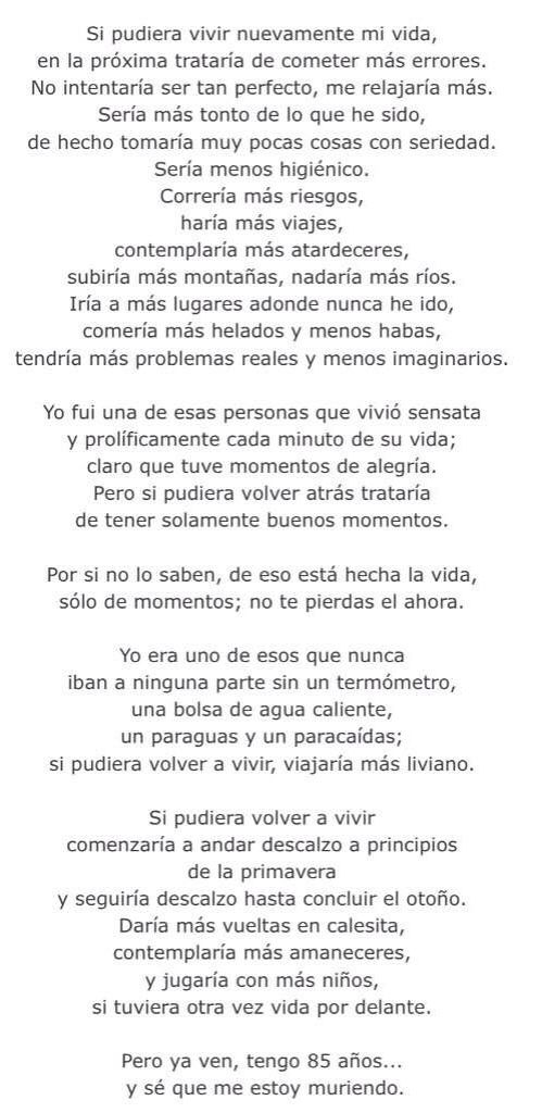 Instantes... Jorge Luis Borges. one of my favorites