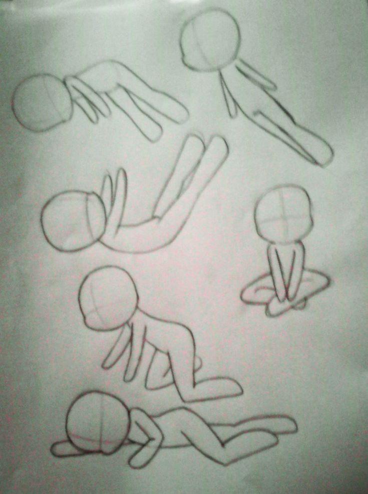 Chibi Poses 2 by xXFF7xYaoixX