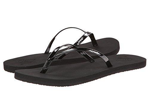 Women's Fashion Slippers Reef Women's Bliss Flip-Flop (10 B(M) US / 41 EUR, Black)