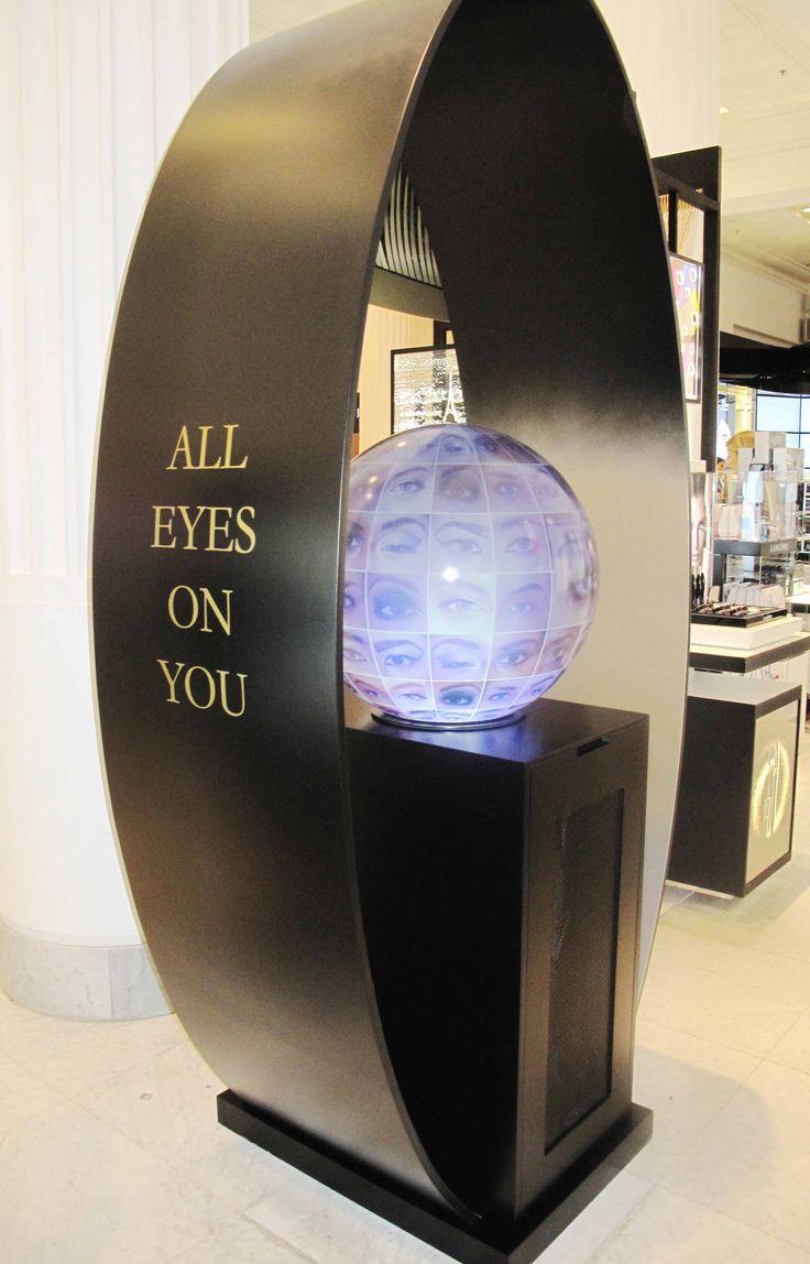 Lancome Selfridges Display by Elemental Design.