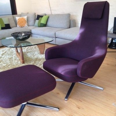 Wonderful Ex Display Vitra Repos Lounge Chair U0026 Ottoman. Now £2450.00 Part 28
