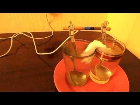 Аппарат для приготовления живой и мертвой воды - YouTube