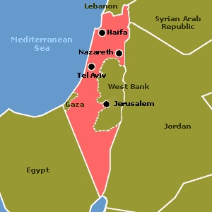 Amazing Israel is a state because it has defined borders and is run by a central government
