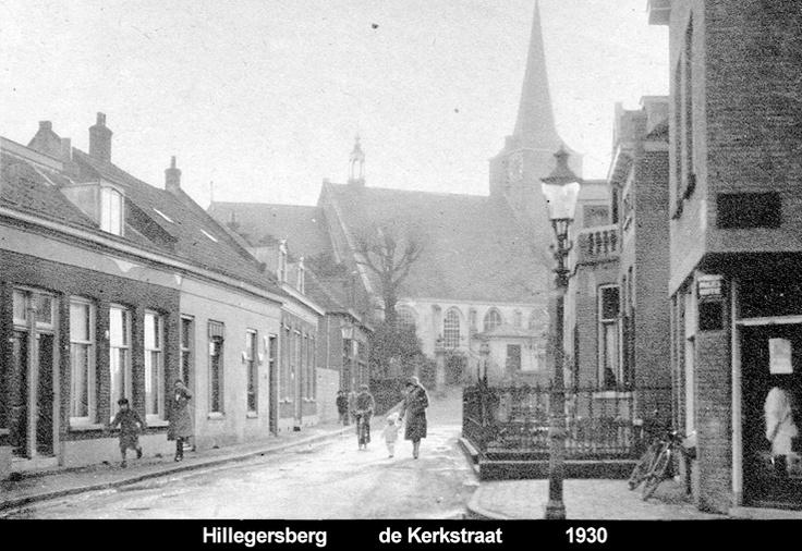 de Kerkstraat - Hillegersberg (Rotterdam)