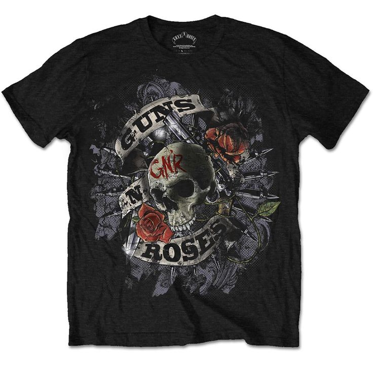 Guns N' Roses Men's Tee: Firepower Wholesale Ref:GNRTS18MB