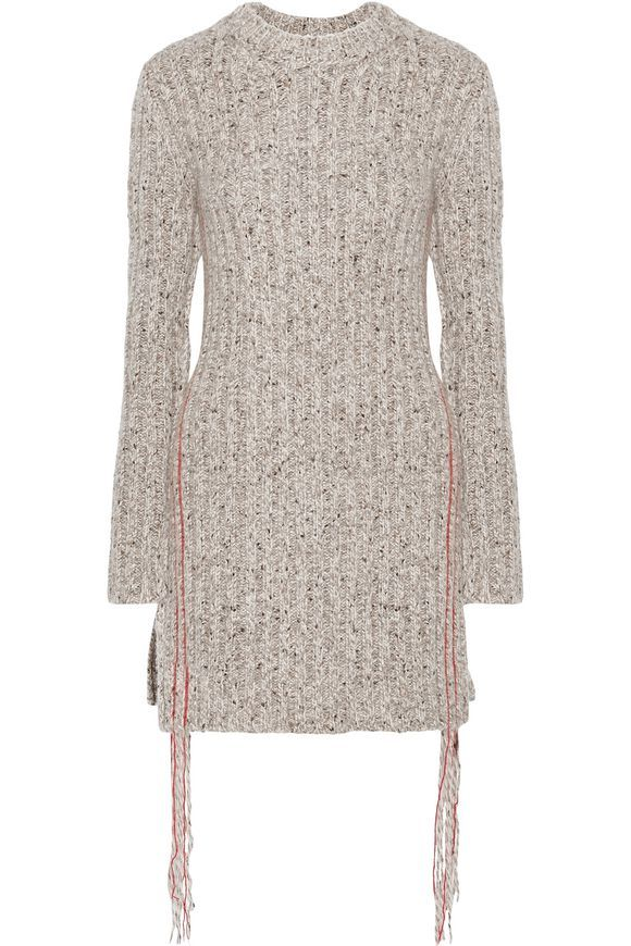 658ef0e94ff THE ROW Ribbed marled cashmere sweater