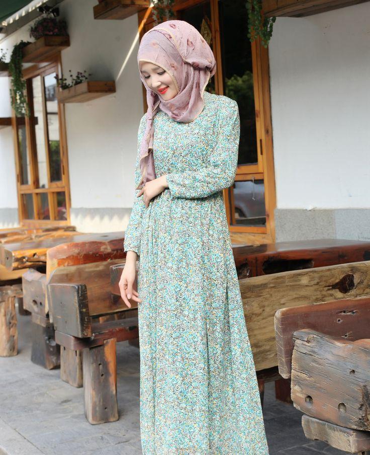 Print Dress D-18 — iTaguna