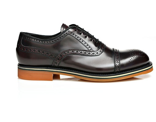 Antonio Maurizi for SuitSupply Oxblood Brogue