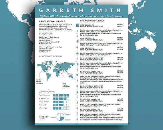 48 best CV images on Pinterest Cover letter template - resume critique