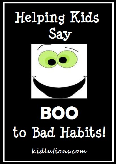 """How do You Say """"BOO"""" to Bad Habits? Just updated!  Ewwwww...hauntingly good! #HalloweenSpinning Doctors Parents, Helpful Kids, Parents Preschool, Do You, Preschool Ideas, Teaching Well, Bad Habits, Angry, Halloween Activities"""