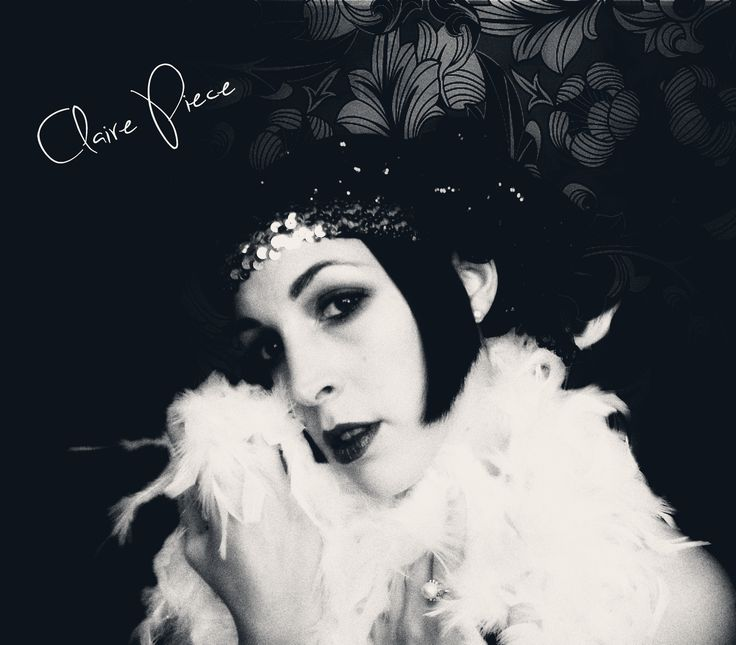 20's look #20s #retro #glamour #fashion #lady #makeup #hairstyle #black #white #model #party #gatsby