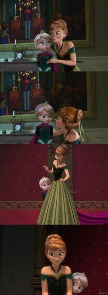 if Anna was the big sister