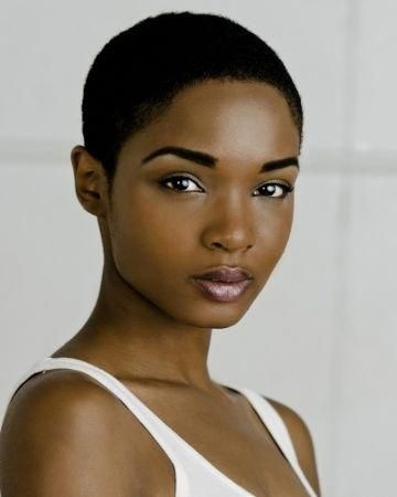 short shaved hairstyles for black women compilation