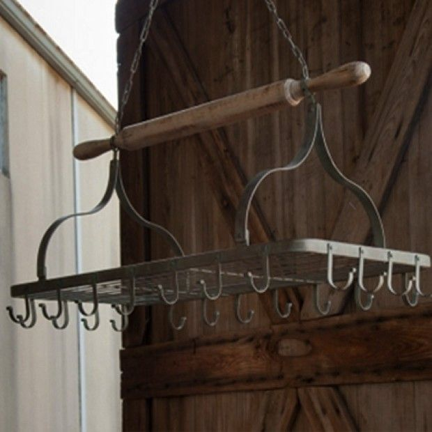 Rolling Pin Hanging Pot Rack